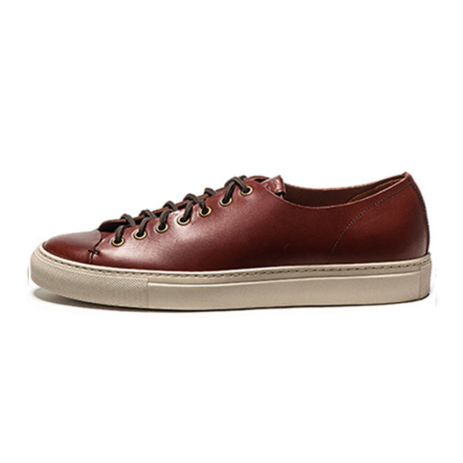 MEN'S TANINO Low Tosch_burgundy