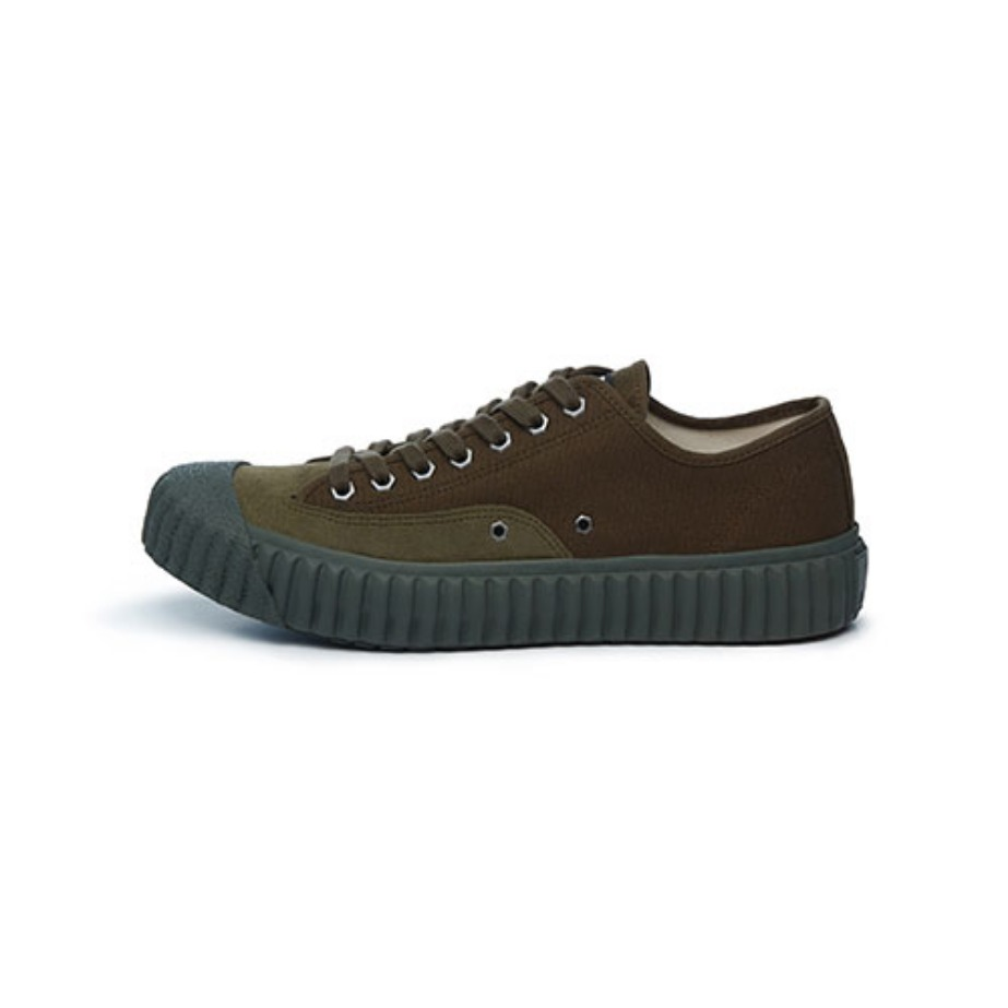 Workman Low_Deep olive green