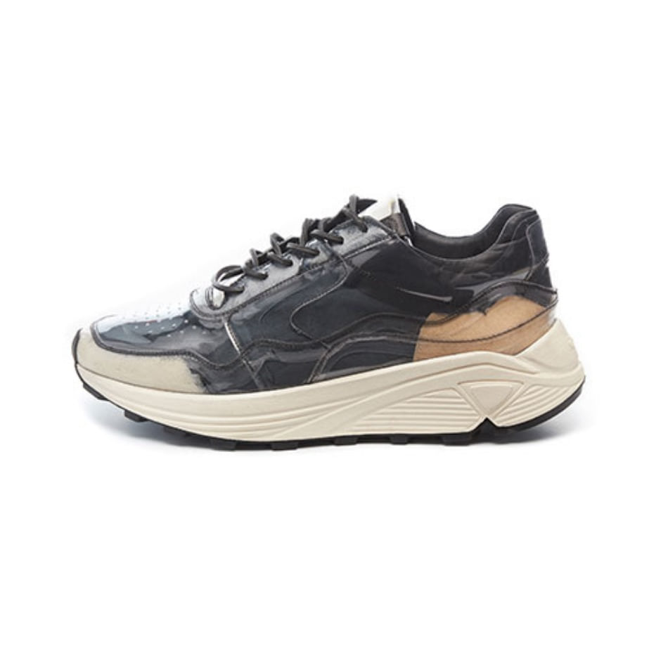 Men's Vinci Low PVC_Nero