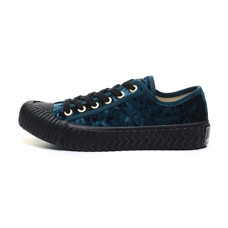 [Weekend special price]Bolt Low Velvet_NAVY